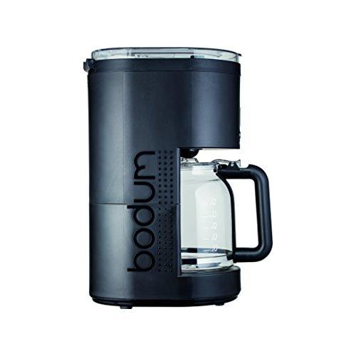 Bodum Bistro 11754 Programmierbare elektrische Kaffeemaschine, 12 Tassen, 1.5 l, 1.5 liters, Schwarz