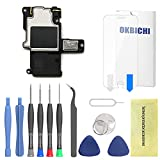 OKBICHI Altavoz Buzzer Auricular de Repuesto Compatible con iPhone 6 Ringer Buzzer ensamble Cable Flex Flexible - Herramienta de Reparación con Protector de Pantalla