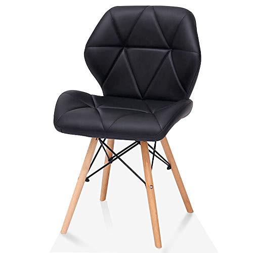 Bar Stools L-H-X Chaise, Bureau à la Maison, Chaise d'Ordinateur pour Le Dossier des Loisirs créatifs, Chaise de réception L++ (Color : Black)