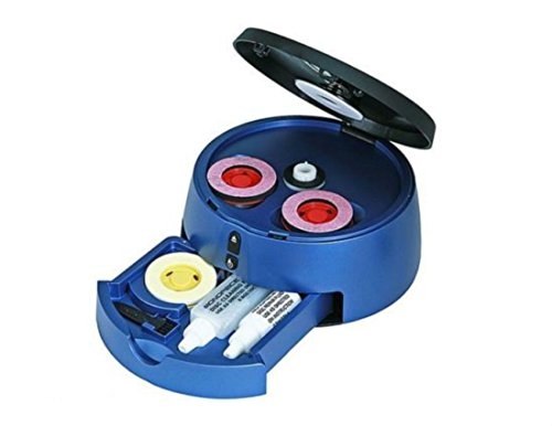 CD DVD BLU RAY or HD-DVD DISC CLEANER SCRATCH REPAIR MACHINE