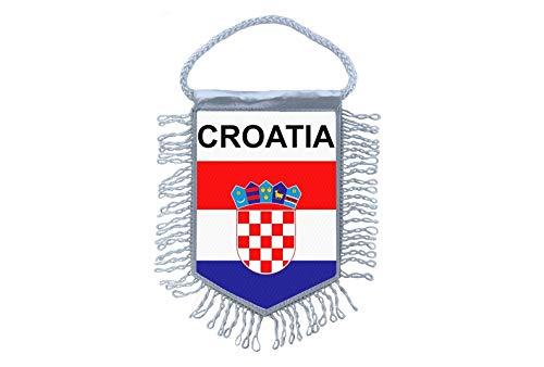 Akachafactory Wimpel Mini Flagge Fahne flaggen miniflagge Kroatien