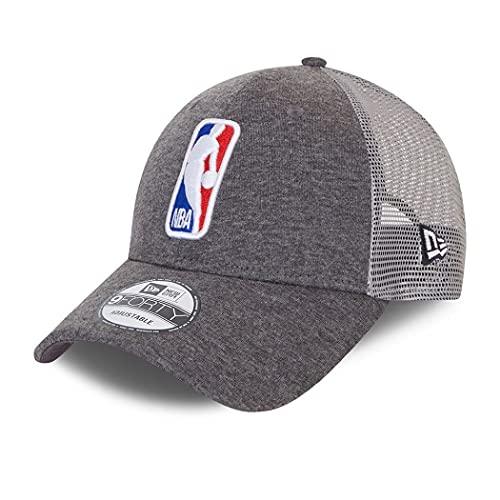 New Era NBA Cap 9Forty Trucker verstellbar Basecap Basketball Kappe Home Field Grau - One-Size