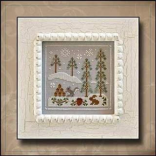 Frosty Forest 4-Snowy Friends Cross Stitch Chart
