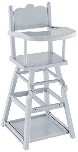 mon grand poupon Corolle - 140170 - Chaise haute pour poupon 36cm et 42cm