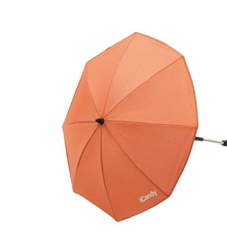 iCandy sombrilla de color naranja y color naranja