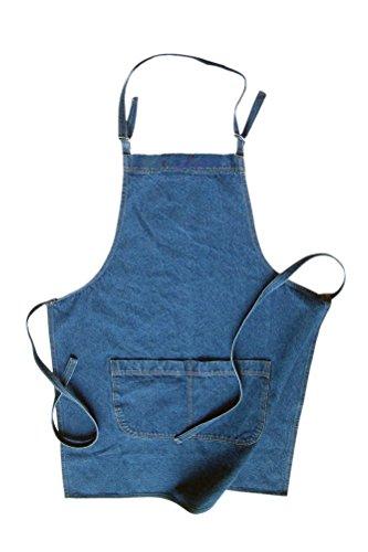 Unisex Kochschürze mit zwei Taschen – 6 Farben Gr. One size, Stonewash