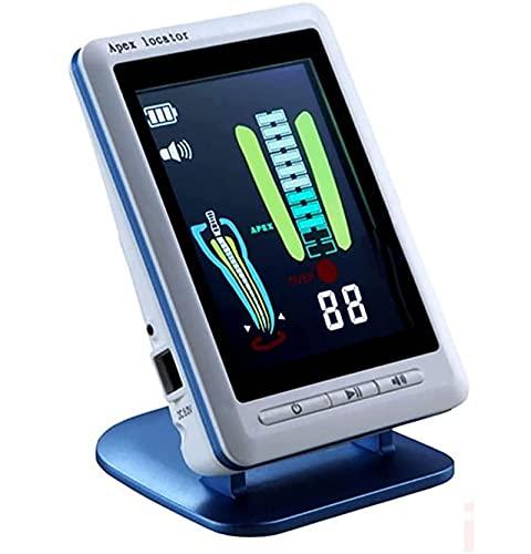 Localizador de ápice de endodoncia con pantalla LCD de 4.5 ', medidor de conducto radicular Herramienta de medición apical dental con color de imagen clara Indicador para prueba de raíz vertical