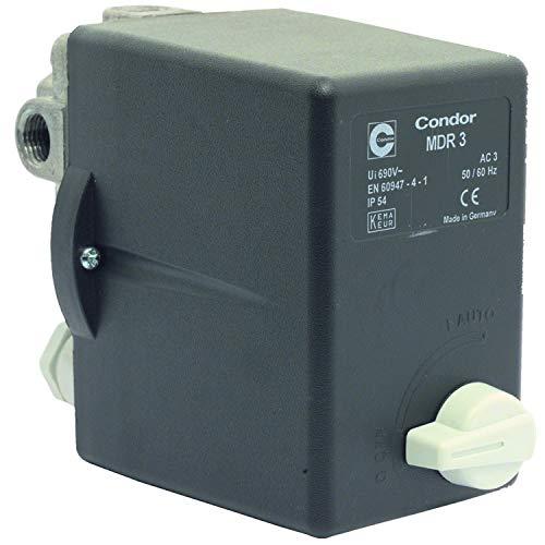 Elmag - Druckschalter CONDOR MDR 3 EA/11 bar, 400 Volt 6,3 - 10 A
