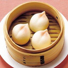 テーブルマーク) 繁盛飲茶ひとくち桃まん 500g (約25g×20個)