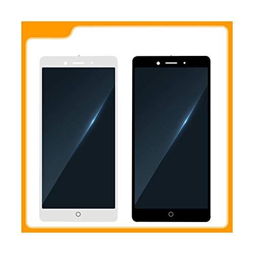 Accessory Kits - Juego de accesorios digitalizador LCD para ZTE Nubia Z11 NX531J, pantalla LCD digitalizador, pantalla táctil, pantalla LCD (color: negro)