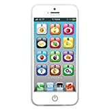 Chuanhao 1 juguete educativo para bebé con celular, para aprender a tocar el teléfono eléctrico.