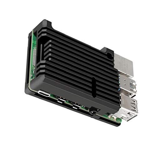 NaiCasy 4B Modell Shell Micro Computer Metall für Kühlung Aluminiumlegierungeinschließung Wärmeableitung für Raspberry Pi Vorstand