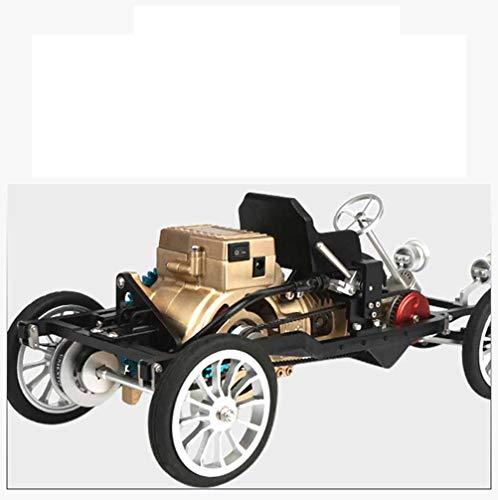 Elektroantrieb Einzylinder-Motor Miniwagen-Metall-Montagemodell, pädagogisches Spielzeug