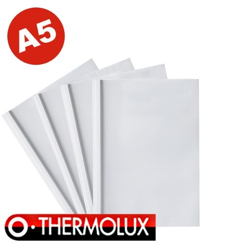 25 Thermobindemappen ThermoLux, DIN A5, 6.0 mm