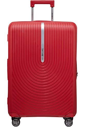 TSA SAMSONITE Hi-FI Spinner Expandable Suitcase 68 cm Red