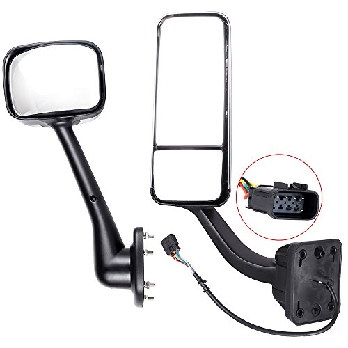 Best Deals! SCITOO Towing Mirrors Driver and Passenger LH RH Side Automotive Exterior Mirrors 4PCS M...