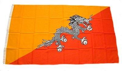 Fahne Flaggen BHUTAN 150x90cm