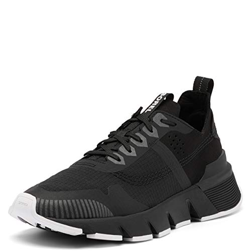 Sorel Women's Kinetic Rush Ripstop Sneaker - Black - Size 7.5