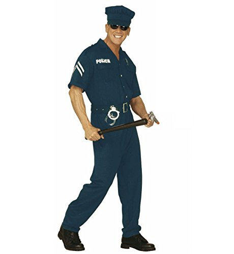 Costume da Poliziotto Americano, Taglia S