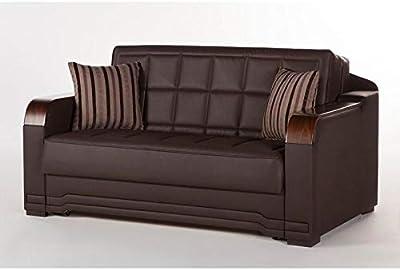 Amazon.com: Fun Mobiliario Black Zebra sofá Sleeper: Kitchen ...