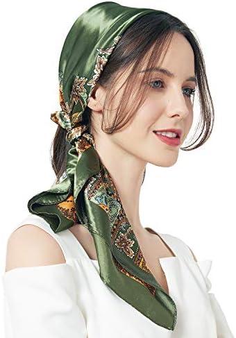 Top 10 Best silk head scarf for sleeping Reviews