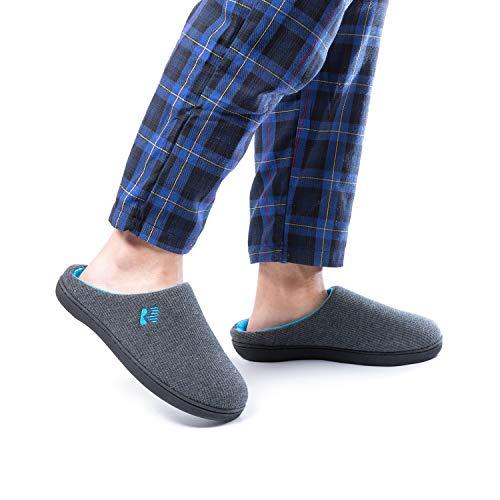RockDove Men's wear around the house slippers for hard floors
