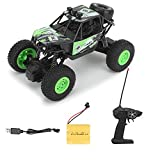 CADDLE & TOES Remote Controlled Monster Like Model Sports Car and Remote Controlling speed with Gun Remote Toy (Green)