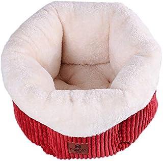 Panjianlin Cama del Animal doméstico Artículos para Mascotas Teddy Bear Pets Hexagon Pumpkin Kennel Shaped Espacio Acogedo...