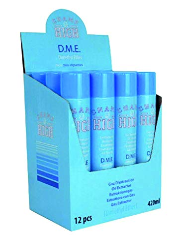 Champ High DME Gas Dimethyl Ether 12 x 420 ml Extraktionsgas 99,9% pur extrahier