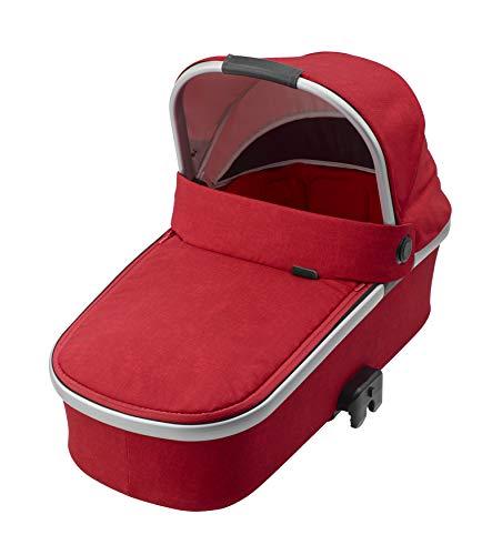 Imagen para maxi-cosi Oria bañera, desde el nacimiento hasta aprox. 6meses (0–9kg) Capazo apto para maxi-cosi carritos Buggy Nova, Stella, adorra, Dana, Nomad Red (Rojo)