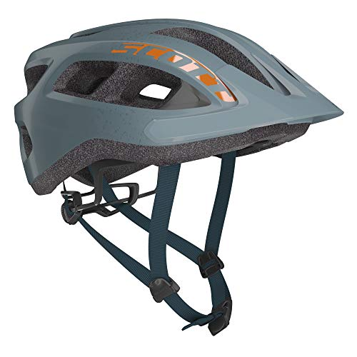Scott Supra MTB Adult Helmet Best All Mountain Bicycle Helmet CPSC Approved (Storm Grey, OSFA)
