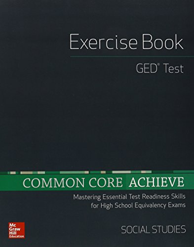 Common Core Achieve Ged Exercise Book Social Studies Basics Achieve
