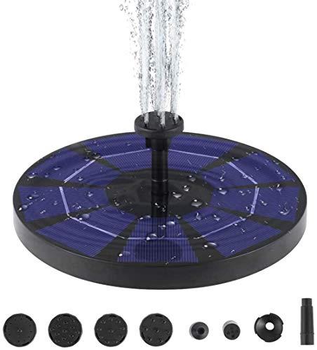 Mantimes Solarbrunnen Pool Gartendekoration Elektrische Brunnenpumpe Gartendekoration (18X18cm)