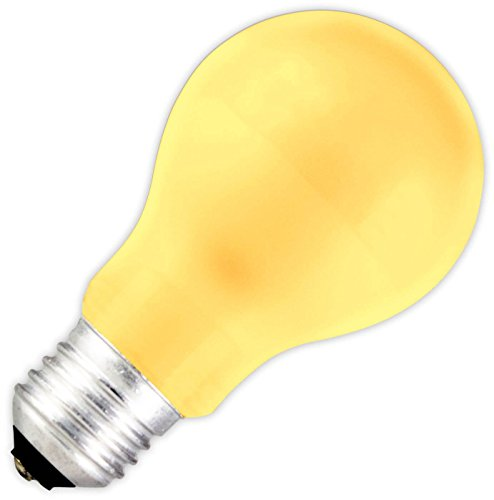 Standaard lamp LED geel 1 W (vervangt 5 W) E27