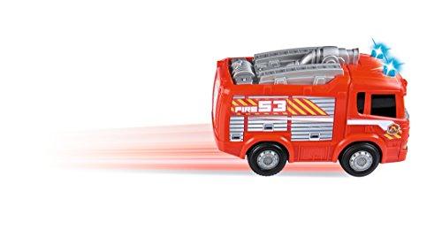 RC Auto kaufen Feuerwehr Bild 5: Dickie Toys 203814031 - RC Happy Scania Fire Engine, funkferngesteuertes Feuerwehrauto, für Kleinkinder ab 2 Jahren, 27 cm*