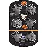 Wilton Pumpkin Non-Stick Mini Ghost, Cake, Pan, One Size, Assorted