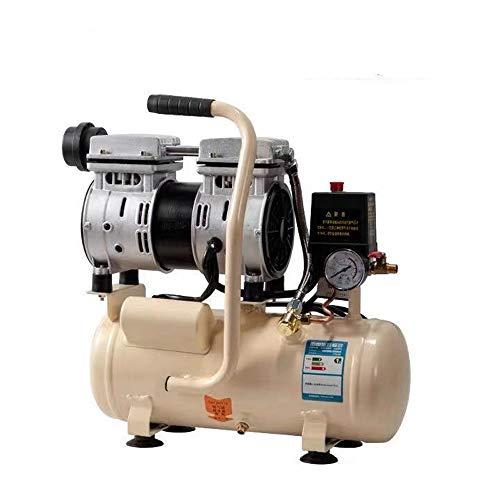 QWERTOUY 8L silencioso pequeño compresor de Aire de la Bomba de Aire portátil Bomba de Aire del compresor de Aire...