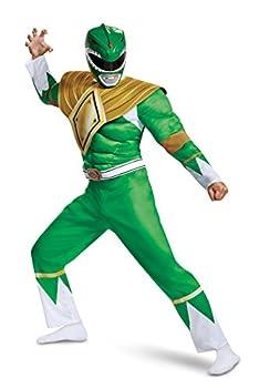 Power Rangers Men s Green Ranger Costume 2X-Large