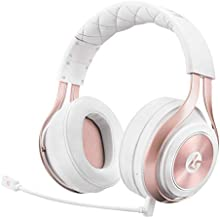 LucidSound LS35X Wireless Surround Sound Gaming Headset - Officially Licensed for Xbox One & Xbox Series X|S - Works Wired with PS5, PS4, PC, Nintendo Switch, Mac, iOS and Android (Rose Gold)