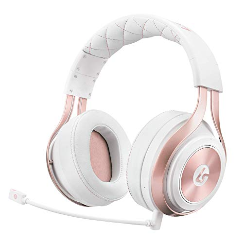LucidSound LS35X Wireless Surround Sound Gaming Headset - Officially Licensed for Xbox One - Works Wired with PS4, PC, Nintendo Switch, Mac, iOS and Android (Rose Gold)