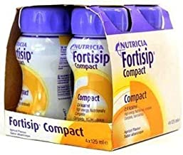 Fortisip Compact 4x125ml ALL FLAVOURS x2 2 boxes - 8x125ml Apricot