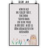 Mr. & Mrs. Panda Wandposter, Wanddeko, Poster DIN A4 Otter