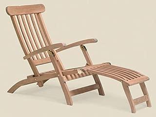 royal teak steamer chair