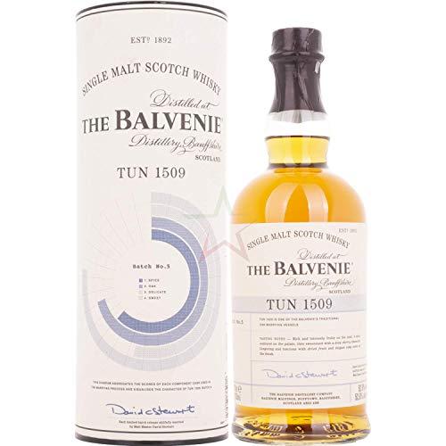 The Balvenie TUN 1509 Batch 5 Single Malt Scotch Whisky 52,6% 0,7l Flasche