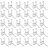[ルボナリエ] ネットフック メッシュ パネル フック メタルラック (150mm, 30本)
