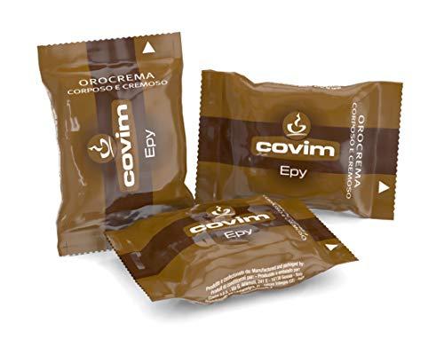 """Covim Caffè Capsule Epy Orocrema, Compatibili Sistema \""""Lavazza® Espresso Point®\"""", 100 Capsule Monodose"""