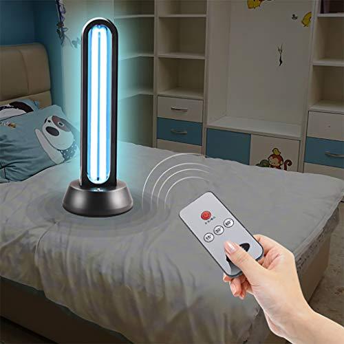 Lampada per sterilizzazione UV Lampada Antibatterica Ultravioletta Integrata con disinfezione Tubo Quarzo ozono UV-C Portatile disinfettante LED per Auto Frigorifero Domestico Toilette Area Pet 38W