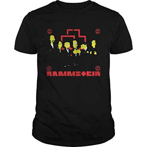 R.ammstein Get The S.Impsons T.reatment Shirt U.nisex