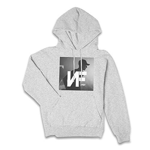 Lucyhu Damen Kapuzenpullover Nf Rapper Logo Pullover Hoodie Langarm Gray XL Sweatshirt Kapuze Für Frauen Bekleidung