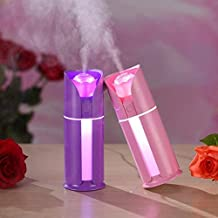 Unity Brand™ Aroma Diffuser Portable Mini USB Ultrasonic Humidifier Quiet Rose Flower Air Oil Diffuser Electric Mist Makers Purifier for Cars House Bedroom Desktop